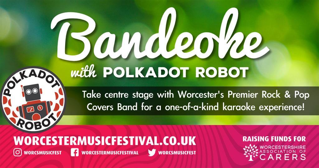Bandeoke with Polkadot Robot