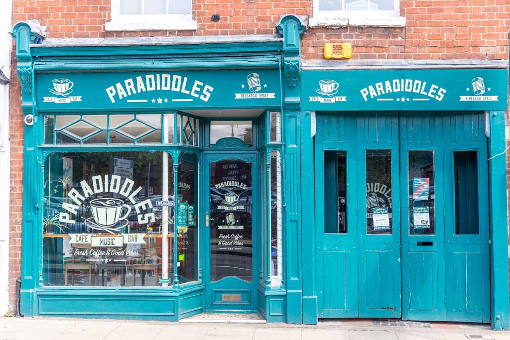 Paradiddles  Music Cafe Bar