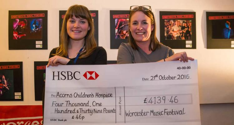 Charity Cheque Presentation 2016