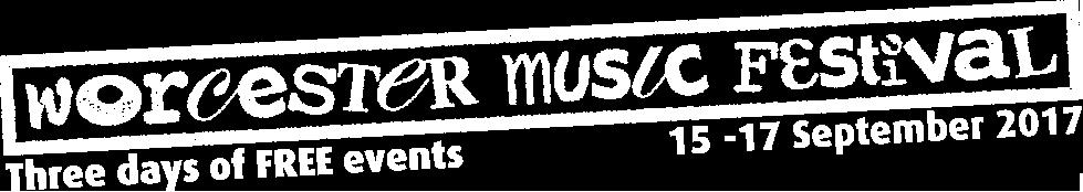 Worcester Music Festival logo